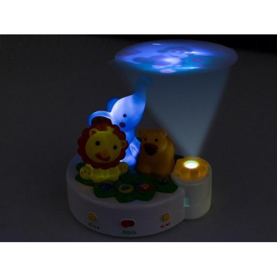 Dětská noční lampa s projektorem Inlea4Fun ANIMAL PROJEKTOR