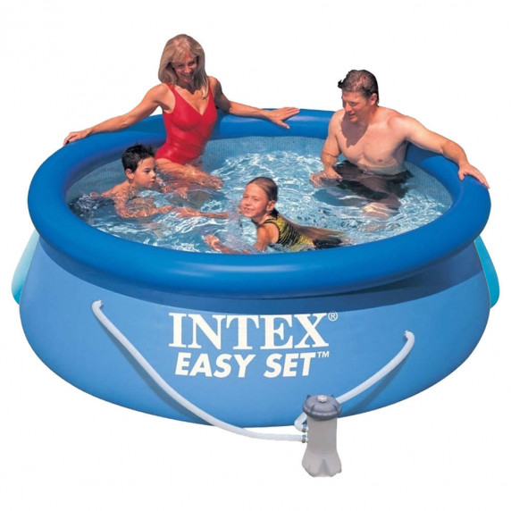 INTEX Bazén Easy Set Pool 244 x 76 cm, s filtrací 28112NP