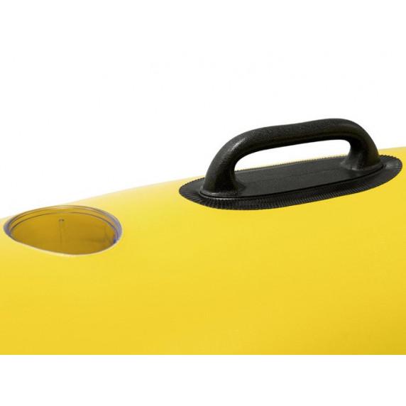 BESTWAY nafukovací ostrůvek Rapid Rider X2 251 x 132 cm - žlutý 43113