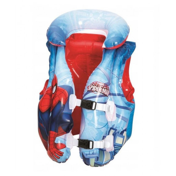 Nafukovací záchranná vesta pro děti Spiderman BESTWAY 98014 51x46 cm