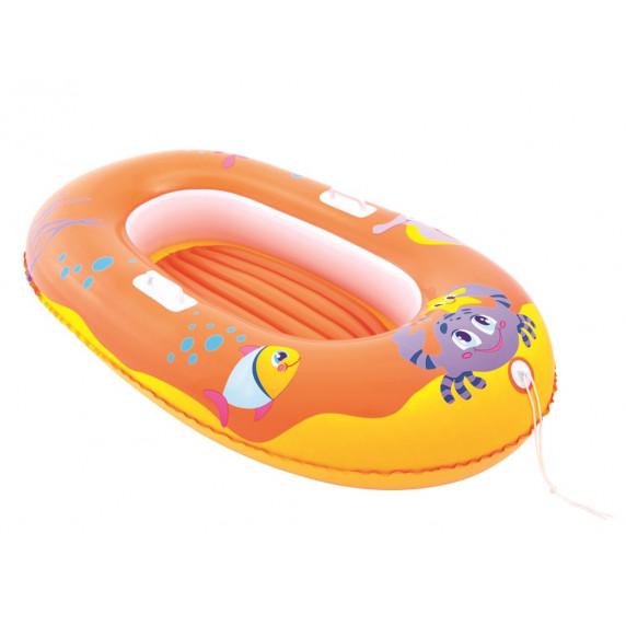 BESTWAY nafukovací člun pro děti KRAB 34009 - Oranžový