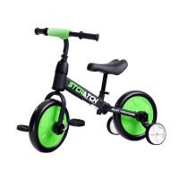 Inlea4Fun Dětské cykloodrážadlo 3 v 1 Stcratck - červené