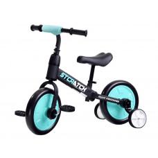 Inlea4Fun Dětské cykloodrážadlo 3 v 1 Stcratck - modré Preview