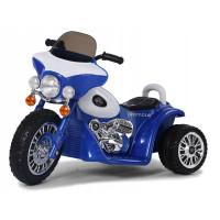 Dětská elektrická tříkolka Chopper PA0116 - modrá