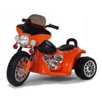 Dětská elektrická tříkolka Chopper PA0116 - oranžová