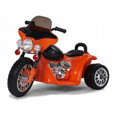 Dětská elektrická tříkolka Chopper PA0116 - oranžová Preview