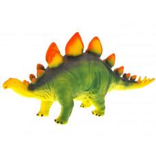 Inlea4Fun Dinosaurus figurka - Stegosaurus s oranžovými hroty Preview