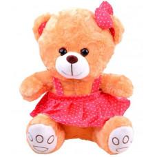 Plyšový medvídek v sukýnce Inlea4Fun 30 cm - hnědý Preview