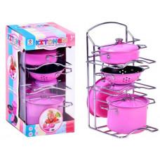 Inlea4Fun Dětské nádobí se stojanem Preview