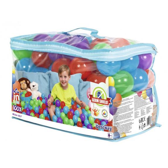 Bestway 52296 Barevné míčky do bazénu 100 ks