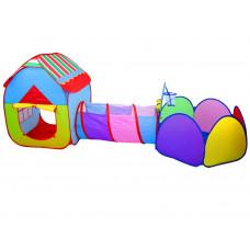 Dětský hrací stan se spojovacím tunelem 3v1 Inlea4Fun PLAY TENT Preview