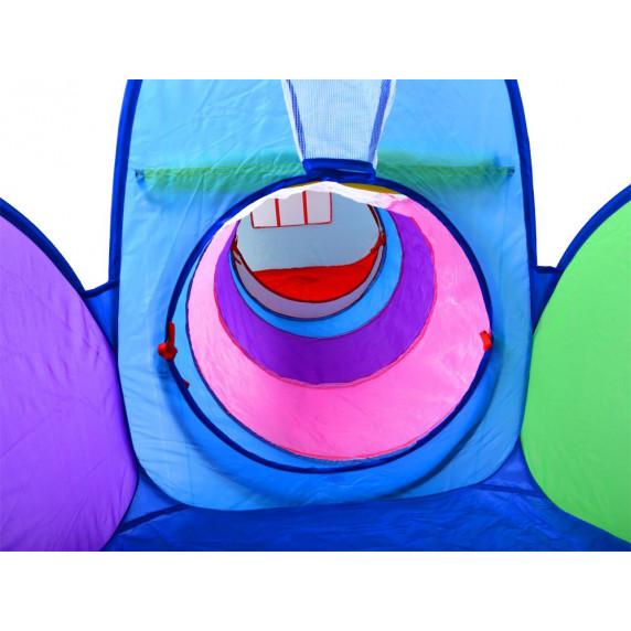 Dětský hrací stan se spojovacím tunelem 3v1 Inlea4Fun PLAY TENT
