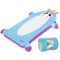 Dětská nafukovací matrace + spací vak 132 x 76 cm BESTWAY Jednorožec