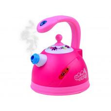 Inlea4Fun SWEET HOME Dětský čajník se světelnými a zvukovými efekty - růžový Preview