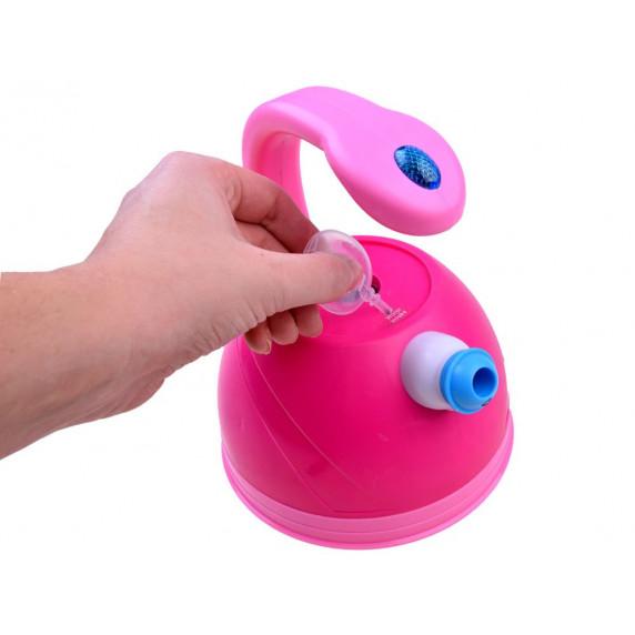 Inlea4Fun SWEET HOME Dětský čajník se světelnými a zvukovými efekty - růžový