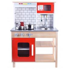 Inlea4Fun Dětská dřevěná kuchyňka TERA Preview