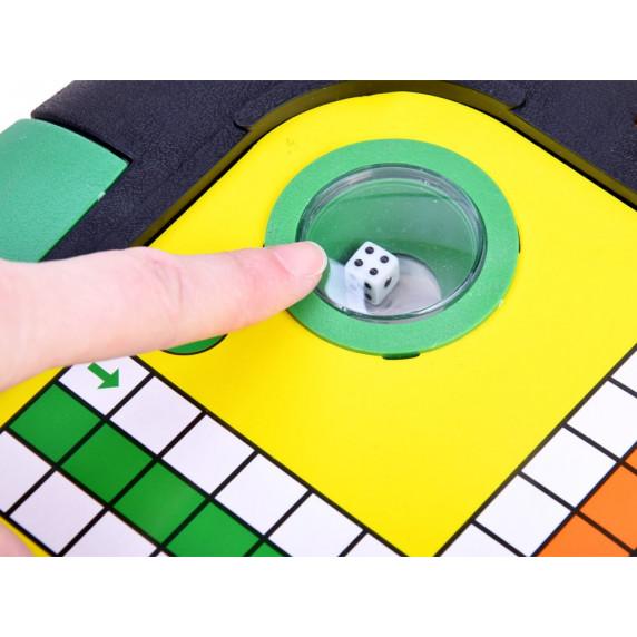 Inlea4Fun Společenská hra 3 v 1 LUDO GAMES