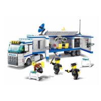 Konstrukční kreativní sada Policejní stanice 395 ks Inlea4Fun POLICE