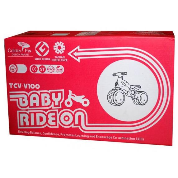 Inlea4Fun Dětské odrážedlo motorka BABY RIDE ON RO0063 - růžové