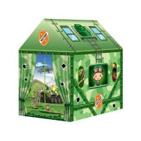 Dětský stan rozkládací domeček Inlea4Fun MILITARY HOUSE