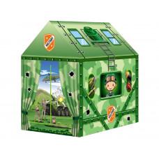 Dětský stan rozkládací domeček Inlea4Fun MILITARY HOUSE Preview