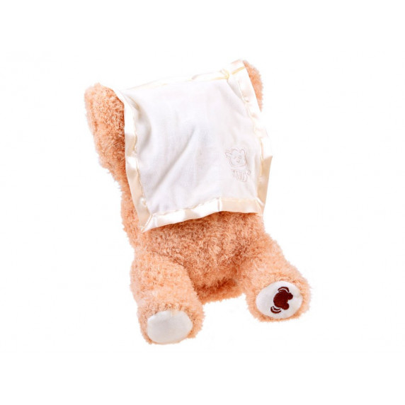 Inlea4Fun PEEK a BOO Interaktivní plyšový medvídek