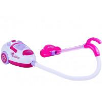 Inlea4Fun SWEET HOME Dětský zvukový vysavač - růžový / bílý