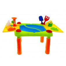 Pískoviště na stolku 2v1 Inlea4Fun Sand and Water Play Table  Preview