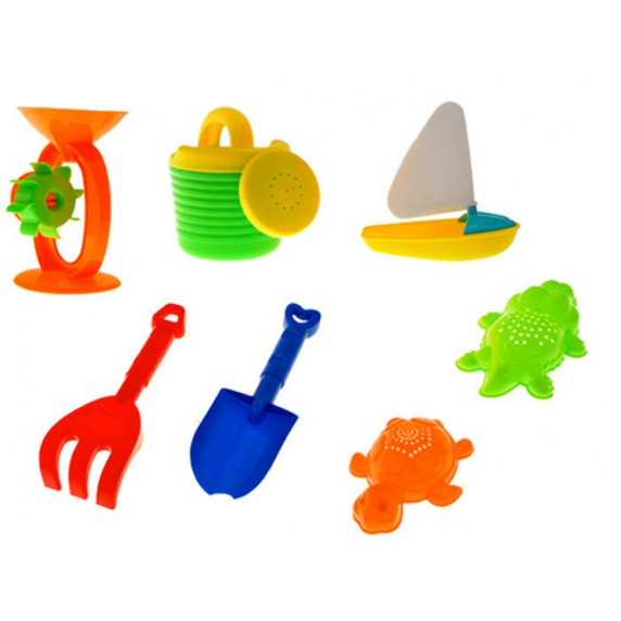 Pískoviště na stolku 2v1 Inlea4Fun Sand and Water Play Table