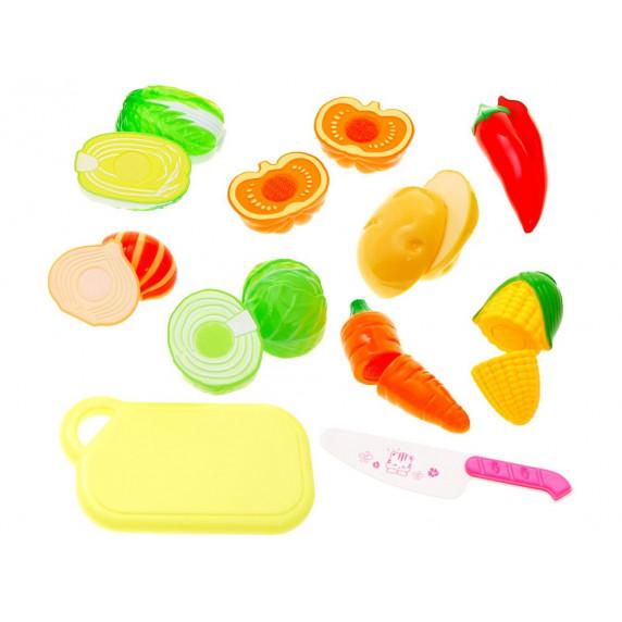 Inlea4Fun Dětská krájecí sada zeleniny CUTTING FOOD