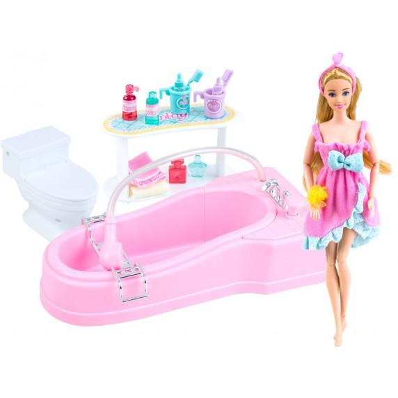 Inlea4Fun BUBBLE BATHROOM Koupelna s panenkou