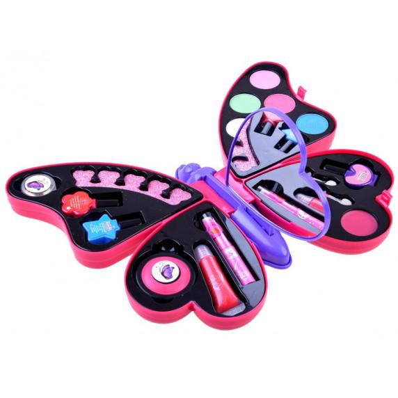 Sada na líčení Fashion Girl Inlea4Fun - motýlek