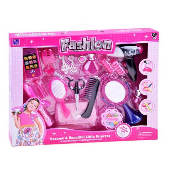 Inlea4Fun Dětský kadeřnický set Fashion Beautiful Dress Up