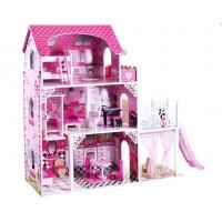 Dřevěný domeček pro panenky Inlea4Fun MONA