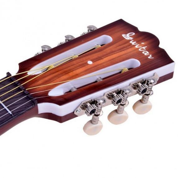 Dětská kytara Inlea4Fun MUSIC - imitace dřeva