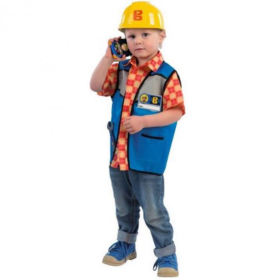 Dětský kostým Smoby Bob stavitel