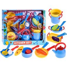 Inlea4Fun Dětské nádobí s příslušenstvím 18 ks KITCHEN SET Preview
