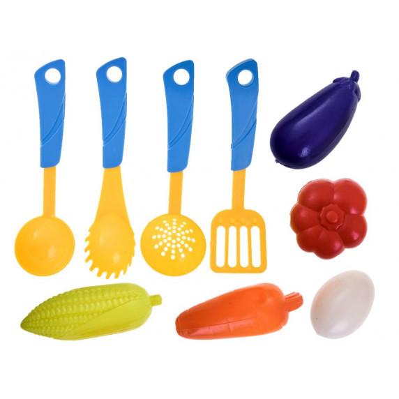 Inlea4Fun Dětské nádobí s příslušenstvím 18 ks KITCHEN SET