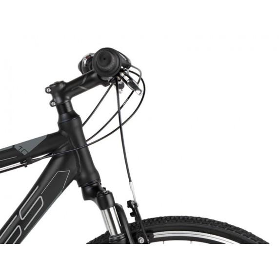 KROSS Cross Pánský kolo Evade 1.0 19 'M 2021 - matný černý / grafitově šedý