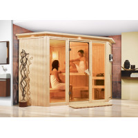Fínska sauna KARIBU FLORA 2 (52953)