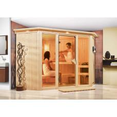 Fínska sauna KARIBU FLORA 2 (52953) Preview
