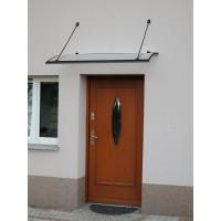 LANITPLAST stříška nad dveře TURKUS 140/85 - Antracit