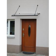 LANITPLAST stříška nad dveře TURKUS 140/85 - Antracit Preview
