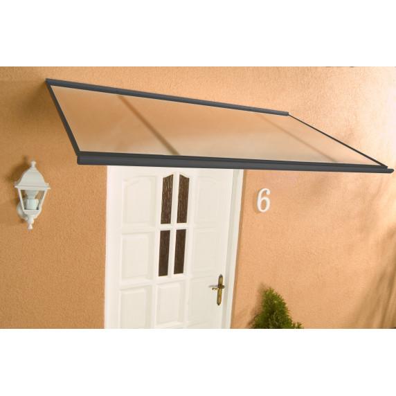LANITPLAST stříška nad dveře MELES 160/85 - Antracit