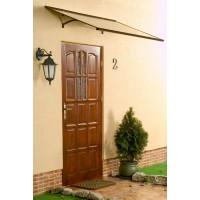 LANITPLAST stříška nad dveře MELES 120/85 - Hnědá