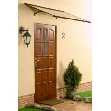 LANITPLAST stříška nad dveře MELES 120/85 - Hnědá Preview