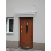 LANITPLAST stříška nad dveře TURKUS 140/85 - Bílá