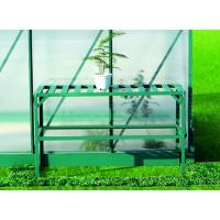 LANITPLAST AL regál jednopolicový 126x50 cm - Zelený