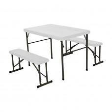 Campingový stůl + 2x lavice LIFETIME 80353 / 80352 Preview