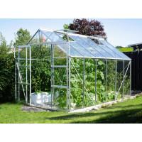 VITAVIA URANUS skleník 9900 číre sklo 3 mm stříbrný